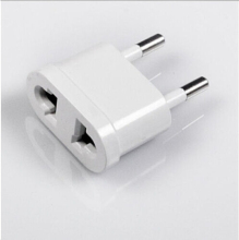 Universal Electronics Power Plug Adapter Converter White Travel Charger Wall AC 2x UK/EU/AU to US Power Plug Converter Adapter