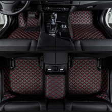 car floor mats for BMW e30 e34 e36 e39 e46 e60 e90 f10 f30 x1 x3 x4 x5 x6 1/2/3/4/5/6/7 car accessories styling Custom foot mats(China)
