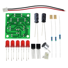 Voice control LED melody light DIY kits production suite Small electronic learning electronic kits
