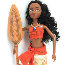 "lovely Moana figures 13"" moana dolls Maui Chick Handan Spotted Pig Action Figure Model Toys For Girls Kids Lover Christmas Gift"