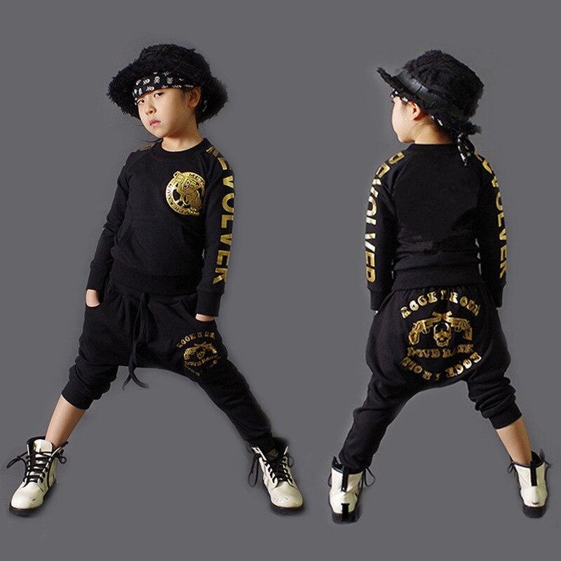 2017 Letters Print Boys Clothing Set Spring Autumn New Kids Children Sports Suit Long Sleeve Top &amp; Harem Pants Hip Hop Clothing<br><br>Aliexpress