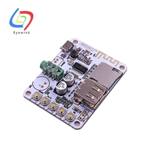 EYEWINK 5pcs/lot Bluetooth Audio Receiver Bluetooth MP3 Decoding USB TF Card Board Decoding Broadcast Output Level Before Play