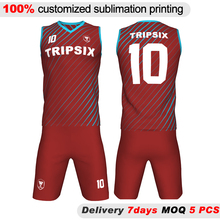 color maroon basketball jersey custom, basketball jersey maroon color(China)