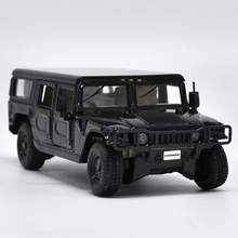 High simulation Hummer 4-door wagon,1:27 scale alloy High quality SUV model,Collection car model,free shipping