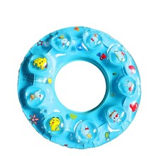 Baby Float Ring Kids Swimtrainer Quality Children Swim Circle Baby Inflatable Pool Float Accessories Blue Yellow Float Circle