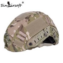 SINAIRSOFT Airsoft Military Tactical Helmet Accessories Cover For Fast Helmet Cover BJ/PJ/MH Multicam/Typhon Camo(China)