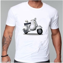 My faith, my voice, vespa my choice New 2017 O-neck Men's and women t-shirt summer Short Sleeve Cotton