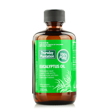 Thursday Plantation Eucalyptus Oil 100% Pure natural 200ml relieves cold & flu symptoms, mild arthritic, muscular aches & pains(China)