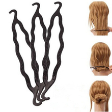 1Pc Magic Long Hair Braiders Tools Hair Braiding Twist Styling Tool for Women Plastic Hair Styling Tools Free Shipping
