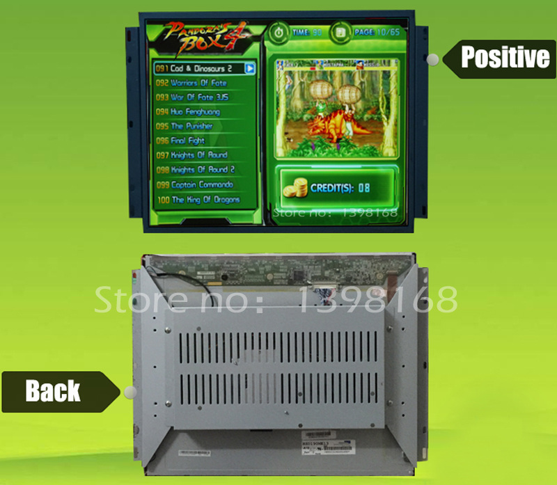 17/19/22 Arcade Game LCD Monitor VGA for JAMMA Arcade Cabinets - MAME  Monitor/ Arcade accessories DIY !!!<br><br>Aliexpress