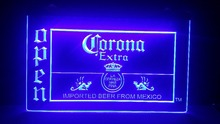 Corona Beer OPEN shop 3d signs Bar LED Neon Sign home decor crafts