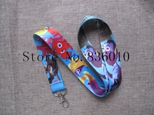 Hot Sale! 10 pcs Popular Cartoon Fishs  Key Chains Mobile Cell Phone Lanyard Neck Straps    Favors P-29