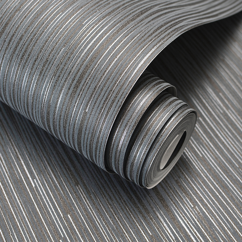 Fashion Simple Solid Color Striped Wallpaper For Walls 3D Home Wall Paper Rolls For Bedroom Living Room Sofa TV Background Decor<br>