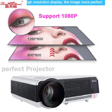 Poner Saund 86 wifi 2017 Latest in Original Poner Saund Android 4.4 DLP Projector Wi-Fi Bluetooth factory PC projector Smart TV