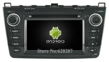 S160 Android 4.4.4 CAR DVD player FOR MAZDA 6 (2008-2012) car audio stereo Multimedia GPS Quad-Core(China)