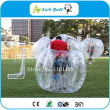 6pcs+1pump,Wholesale TPU Inflatable Body Zorb,1,.2m Bumper Ball For Kids, Funny outdoor games of loopy ball,bubble soccer