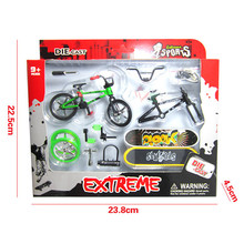 Creative Things Finger Bmx Bikes Children Toy Thumb Finger Skateboard Professional Cycling Mini-Finger-Bmx Kids Toys Juguetes(China)