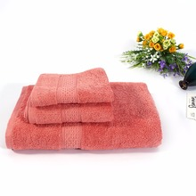 3PCS/Set Soft Elegant Cotton Terry Hand Towels for Adults Decorative Face Bathroom Hand Towels