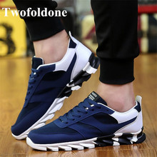 Outdoor Running shoes for Men Sneakers Tennis Sports shoes Breathable Canvas Flat Sport Running shoes Men Trainers(China)