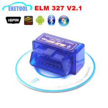 OBD2 Auto Code Reader ELM327 V2.1 Bluetooth Car Diagnostic Scanner Works Multi-Brand Cars ELM 327 Wireless Android Torque