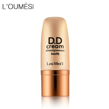 Loumesi dd cream skin care foundationConcealer Skin Care Base Makeup Foundation Dark Yellow Skin Nude Face DD Cream(China)