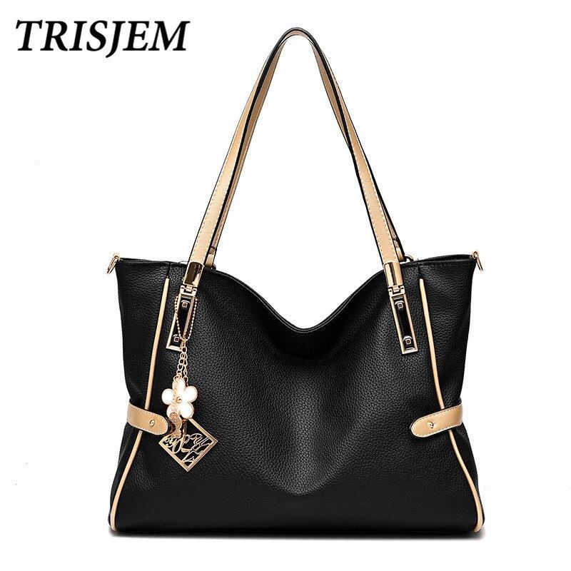 Bolsas Women Fashion Handbag Shoulder Bag Luxury Handbags Women Bags Designer Famous Brand Ladies Hand Bags Bolsa Feminina Black<br>