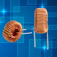 5Pcs 6A Toroid Core Inductors Wire Wind Wound DIY mah--100uH Coil New S08 Drop ship(China)