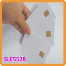 Yongkaida 500pcs/lot samrt IC contact card ISO7816 R/W PVC rfid card SLE4428 SLE5528 PVC Contact Blank Smart IC Card(China)