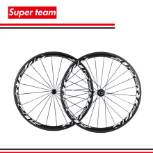 Superteam 38mm carbon clincher 700c wheelset bicycle road carbon 38mm clincher wheelset(China)