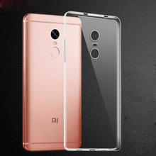 For XiaoMi 4 4C 5 RedMi 3 3S Pro Note 3 Pro 4X 4A Prime Global Version Soft Silicone Clear TPU Phone Case Transparent Back Cover