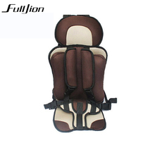 baby Safety Car Seat Children's Chairs in the free Car Updated basket Version car-covers Thickening Kids(China)