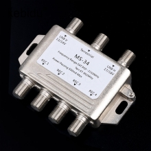Kebidu MS34EZ 3x4 Satellite MultiSwitch Splitter FTA TV LNB Switch Cascade satellite 3 in 4 Out Multiswitch Good(China)