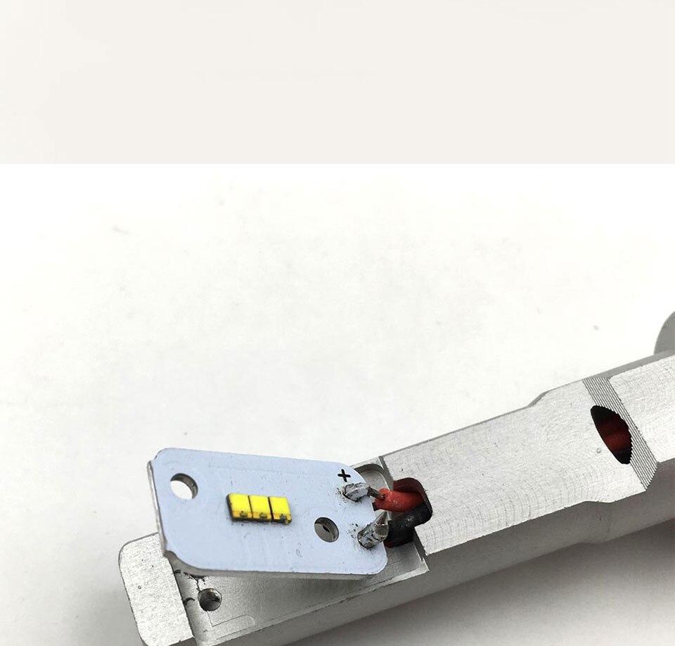 ZES COB LED Chip for X3 Car Headlight Bulbs H1 H3 H4 H7 9005 9006 880 H13 9004 9007 Auto Headlamp Light Source X3 ZES Chip (13)