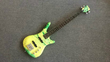 2015 New + Factory + war-Rick  4 strings bass guitar Hott selling bass Made in China bass in stock for fast shipping