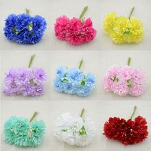 Buy free 72pcs/lot Silk artificial Stamen Bud Bouquet flower home Garden wedding Car corsage decoration crafts plants for $3.99 in AliExpress store