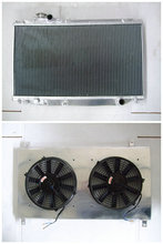 Aluminum Radiator+Shroud+Fans For Toyota Supra mark4 MK 4 IV JZA80 2JZGE 1993-1998 93 94 95 96 97 98(China)