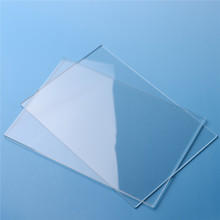 2Pcs/set 3mm Clear Acrylic Cutting Plates Plastic Transparent Sawn Cut Panels Perspex Sheet Acryl Stamping Blocks(China)