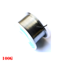 1mm DIA 100 gram 2% Flux New Tin Lead Tin Wire Melt Rosin Core Solder Soldering Wire Roll Free Shipping(China)