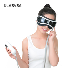 KLASVSA Foldable Air Pressure Eye Massager Heating Vibrate Music Therapy Acupoint Massage Relaxation Dispel Eye Bags Health Care(China)