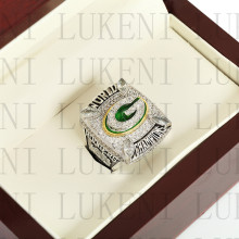 Year 2010 Green Bay Packers Super Bowl Championship Ring 10-13Size RODGERS Fans Gift With High Quality Wooden Box(China)