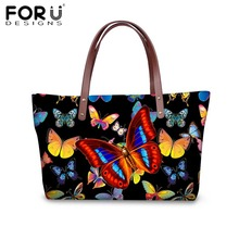 FORUDESIGNS Brand Women Handbags Butterfly Tote Bags Designer Crossbody Bags for Ladies Girls Shopper Bolsa Feminina Sac a min