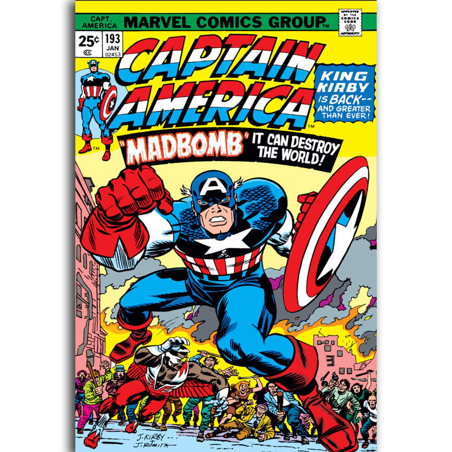 G2533  Marvel Comic Vintage Superhero 27x40 Art Silk Poster