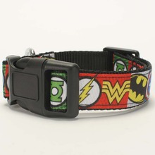 "New arrivals 1""25mm Hot avenger logo pattern  Dog Collar,1 inch  Dog Collar 2 size avaiable"