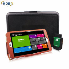 VPECKER Easydiag Wireless OBDII Support Wifi Online Update WINDOWS 10 Tablet ABS Airbag Reset OBD Scan Tool