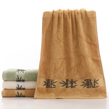 Whoelsale Super Soft Home Hotel Bamboo Towels Brand Face Towel Cloths toalhas Soft Washcloth Towels Bathroom TS003