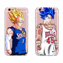 Cartoon Patterns Phone Case For iPhone 5 5s SE 6 6s Case Silicone Funda Covers Derrick Rose Bulls SIXERS 3 Dragon Ball(China)
