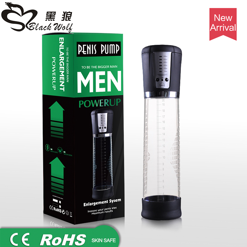 Electric Penis Enlargement Pump Enlarge Tool Strong Automatic Penis Suction Strength Sex Toys Penis Extending Toys<br>