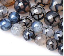 Black and white dragon  beads wholesale crystal beads 6mm * beads  lapis lazuli lovely beads*