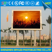 SRY led display module p10 SMD rgb full color 320X160mm 32X16 dot matrix pixels 1/4 scan panel de led outdoor 10mm(China)