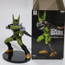 Dragon Ball Z Action Figure Cell PVC Figure 180MM DRAMATIC SHOWCASE Dragon Ball Z Cell Model Toy Doll Figuras DBZ Cell DB26(China)